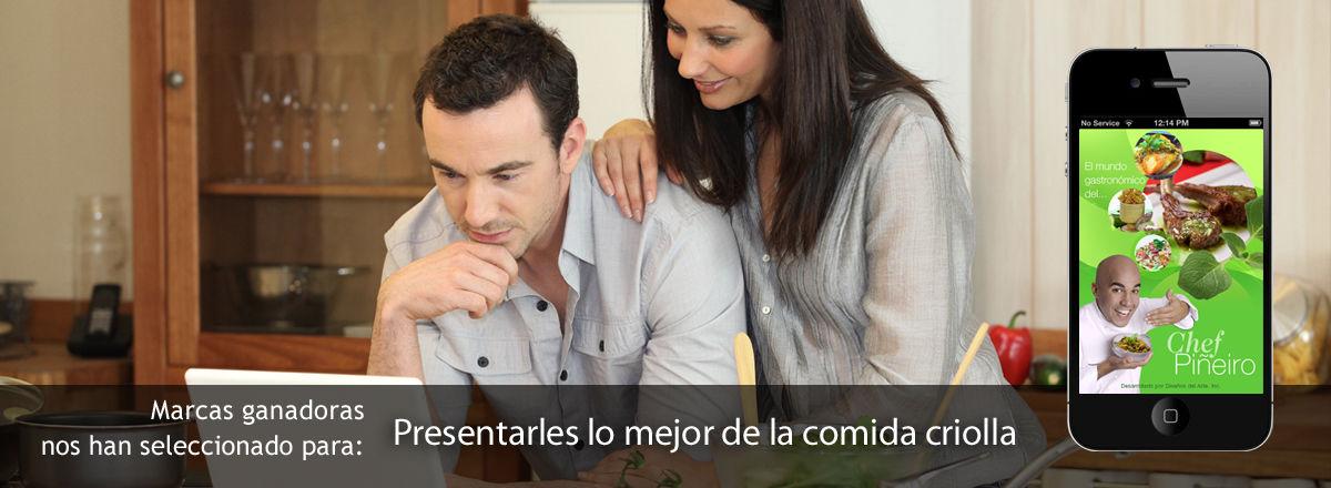 Chef Pineiro - Receipe Book, Website and Webinars